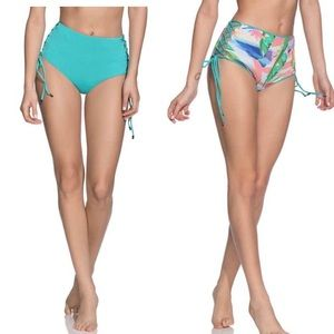 Maaji Aquatic Amelie High Waist Reversible Bottoms